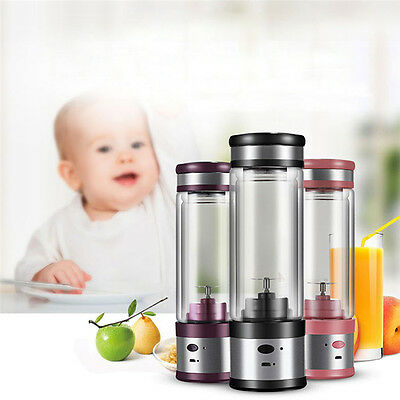 Juice Extractor Ice Fruit Vegetable Smoothie Blender Mixer Sports Bottle