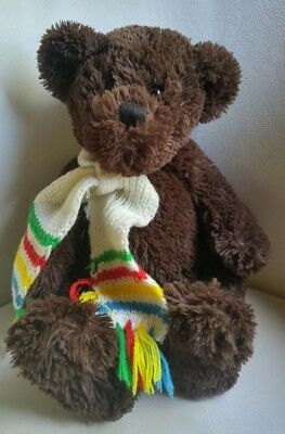 2005 Millington HBC Plush Bear with Scarf Approximately 12""
