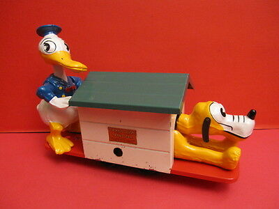 Lionel Trains 1936 Donald Duck & Pluto Hand Car Walt Disney