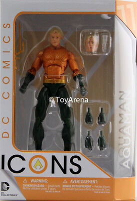 DC Icons Aquaman Legend of Aquaman Action Figure IN STOCK USA SELLER