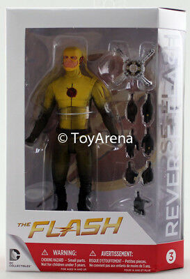 DC Collectibles CW TV Show Flash Reverse Flash Action Figure IN STOCK USA