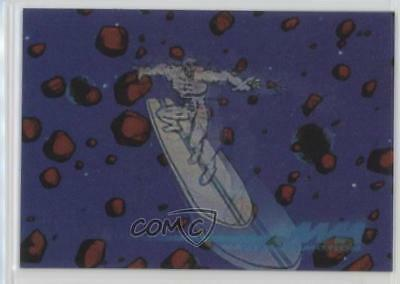 1996 Skybox Marvel Motion #13 Silver Surfer Non-Sports Card m1k