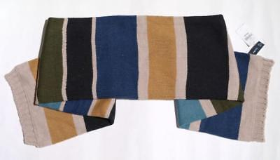 NWT Gap KIDS Striped  Scarf UNISEX ONE SIZE BLUE / BROWN