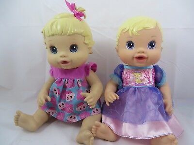 Baby Alive Dolls Better Now Baby Sips 'N Tinkles Princess Drink and Wet Blondes