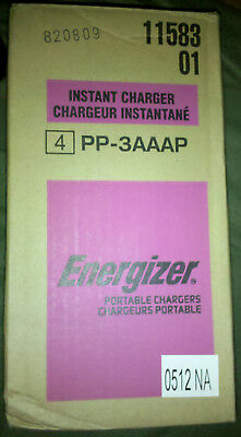 Energizer PP-3AAAP Instant Charger For Apple IPod/iPhone Master Pack of 4