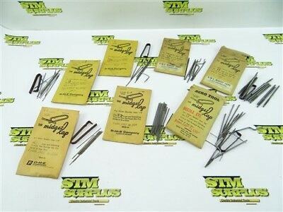 """Lot Of Assorted Midget Lap Lapping Tools .046"""" To .170"""""""