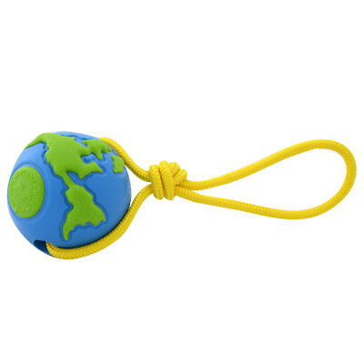 ORBEE BALL with ROPE Durable Minty PLANET DOG Made USA Fetch Tough Dog Toy