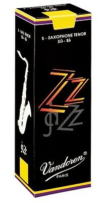 Box of Vandoren ZZ Jazz  Tenor Sax Reeds. 1 1.5 2 2.5 3 3.5 4 & 5 Available