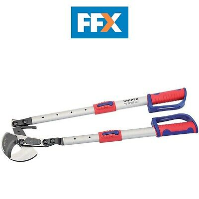 Draper 95 32 038 Knipex Ratchet Action Telescopic Cable Shears