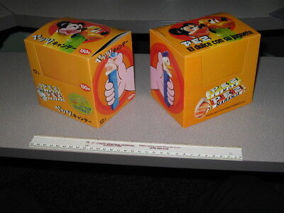 PEZ MEXICO 1970s (LEFT 1 item) display box DISNEY Mickey Mouse 3 Little Pigs