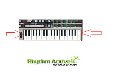 KORG MICROKORG SYNTHESIZER COMPLETE KEYBED KEY SET A/B/C/D/E/F/G #/b SPARE PART