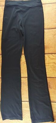 Capezio Women's Dance Yoga Pants Black Size Large Cross Fit Gymnastics