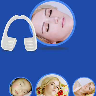 Pro Dental Mouth Guard Stop Teeth Grinding Bruxism Eliminate Clench Sleep Aid GN