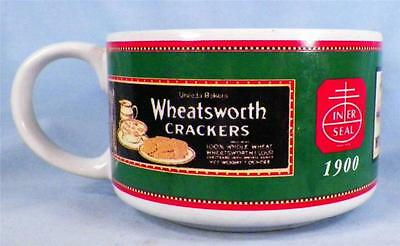 Nabisco Crackers Soup Mug Oysterettes Wheats Worth Pilot Biscuit 1998
