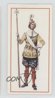 1976 Tobacco Base #3 The King's Royal Regiment of Guards Pikeman 1660 Card 1i3