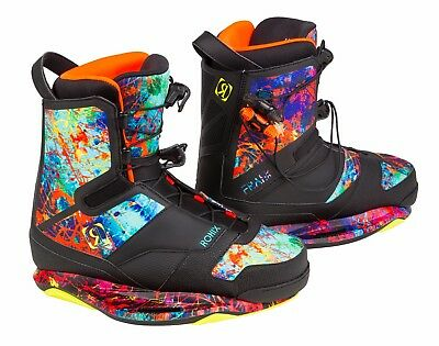 Ronix 2017 Frank Boot - Everything - Size 10 Wakeboard Bindings