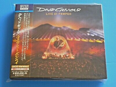 Japan 2 Cd Set Digi Sleeve David Gilmour Live At Pompeii Blu Spec2 Pink Floyd