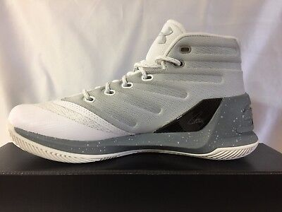 new product 58ae2 f7436 NEW WITH BOX Under Armour UA Curry 3 Men's Basketball Shoes-1269279-101