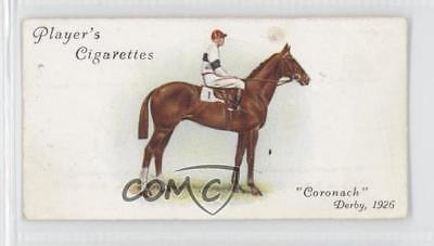 1933 Player's Derby and Grand National Winners Tobacco Base 19 Coronach Card 1m8