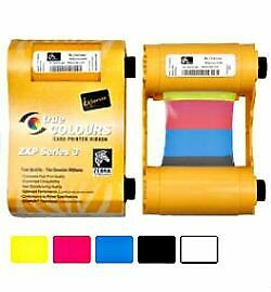 Zebra ZXP3 YMCKO Colour Printer Ribbon