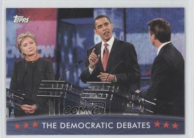 2008 Topps President Obama Collector Trading Cards 31 The Democratic Debates 0s5