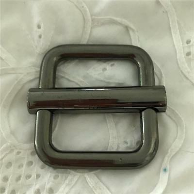 Sliver Belt Buckle x1 (Heavy Metal)