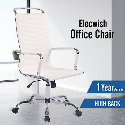 Drafting Chair Mesh Back Air Grid Adjustable Swivel Tall Seat Office Reception