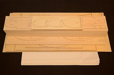 Giant 1/3 Scale RYAN STA  SPECIAL Laser Cut Short Kit & Plans 120 in. Wingspan