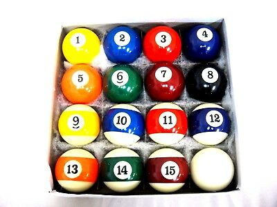"2"" Quality Billiard Balls Pool Balls Set New Free AU Postage"