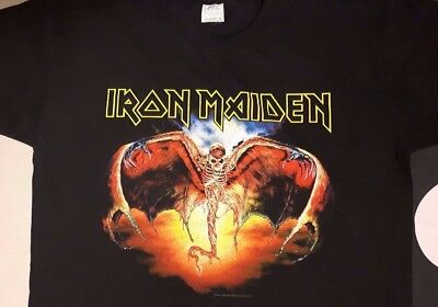 IRON MAIDEN fear of the dark 1992 TOUR ORG VINTAGE CONCERT SHIRT DEADSTOCK NEW L