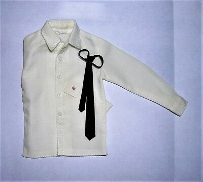DiD Toys City 1/6th Scale WW2 German Officer's White Shirt & Tie