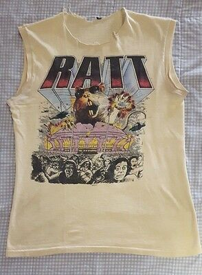 RATT invasion of your privacy 1985 TOUR MEGARARE ORIGINAL VINTAGE CONCERT SHIRT
