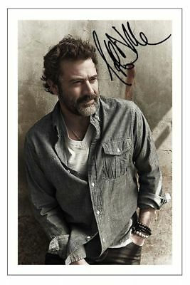 Jeffrey Dean Morgan Supernatural Signed Photo 6X4  Print Autograph