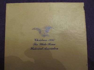 1995 White House Historical Association Christmas Ornament new FREE SHIPPING