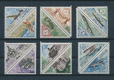 LH19376 Congo taxation stamps transport fine lot MNH