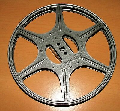 9.5mm 400ft 7-INCH FILM SPOOL REEL IN GOOD CONDITION 9.5mm PROJECTOR