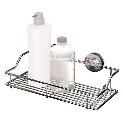 Gecko Quick Lock Suction Bathroom Large Wire Rack