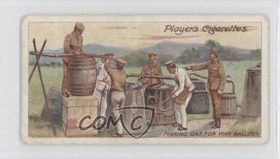 1910 ITC Army Life Tobacco Player's Back Making Gas for War Balloons #19 gc7