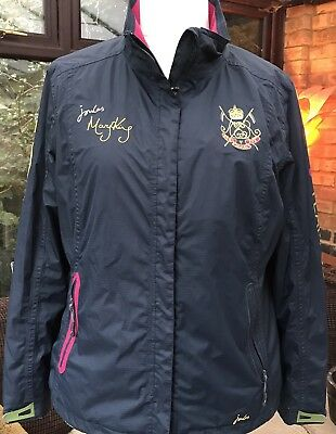 Joules Mary King 5 Golds Jacket Navy Size 18