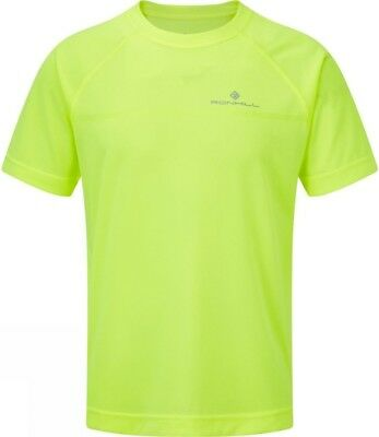 Ronhill Everyday Short Sleeve Mens Running Top - Yellow