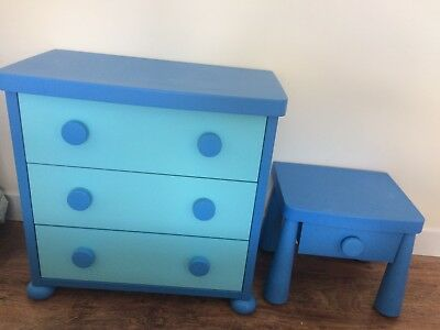 Ikea mammut Chest Of Drawers And Matching Bedside Table