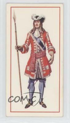 1976 Tobacco Base #5 First Regiment of Foot Guards Officer 1685 Card 1i3