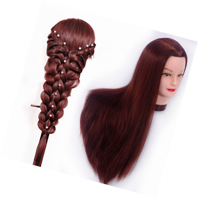 Hairstyle Doll Head Cosmetology Mannequin Hair Style Beauty School Hairdresser
