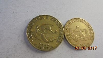 Albania  coins as photo