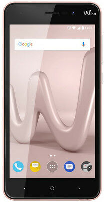 Wiko lenny 4 Rosen Gold Smartphone 5 Zoll dual SIM mit Android 7.0