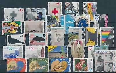 LH19761 Netherlands nice lot of good stamps MNH