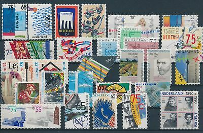 LH19766 Netherlands nice lot of good stamps MNH