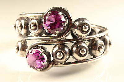 Los Ballesteros Taxco Sterling silver Mexican Bracelet Topaz 925 Armband