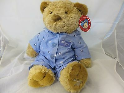 La Senza 2002 Franz large Blue PJ's Teddy Bear