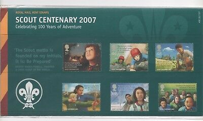 2007 GB Presentation Pack 400 - Scout Centenary